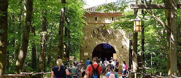 Entrance to the Odyssée du Puy du Fou