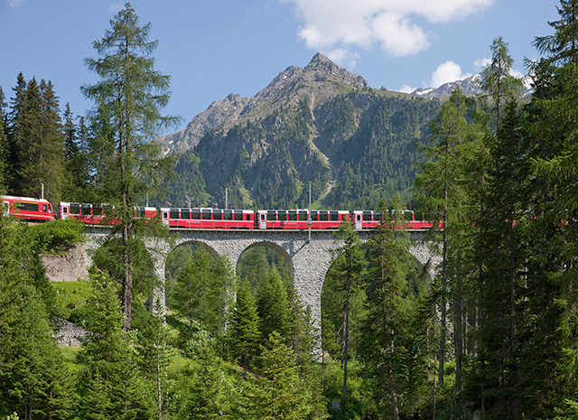 Switzerland and the Glacier Express