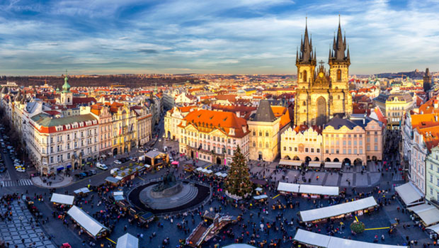 Prague Christmas Market.Prague Christmas Markets By Blue Islands And Bontour